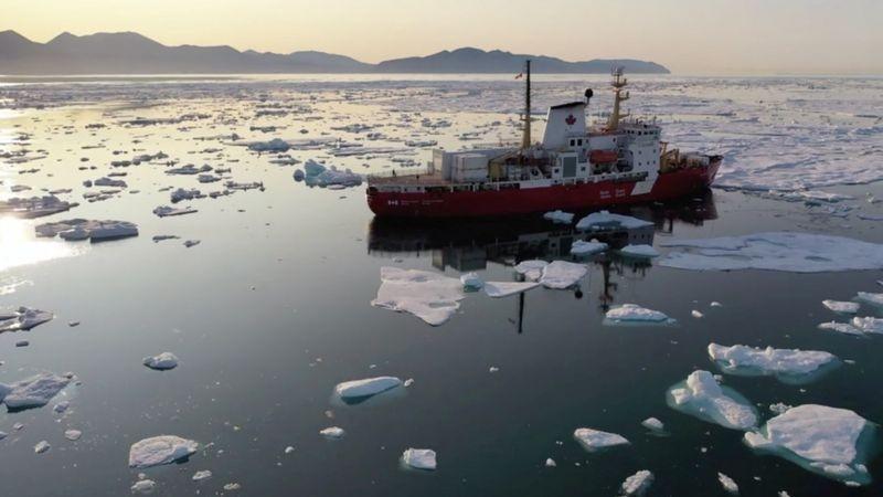 Los investigadores han dirigido más de 40 expediciones en el Atlántico para explorar el fondo del océano en detalle (Foto: Atlas vía BBC News)