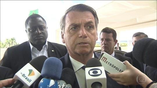 Bolsonaro defende Moro e destaca papel do ex-juiz no combate à corrupção