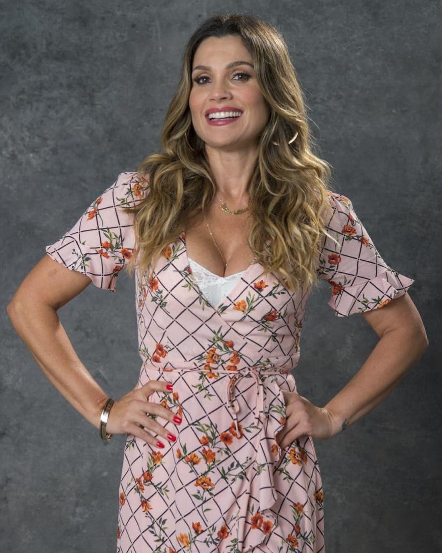 """Flávia Alessandra se prepara viver Rita de Cássia na novela """"O Sétimo Guardião"""" (Foto: Reprodução / Instagram)"""