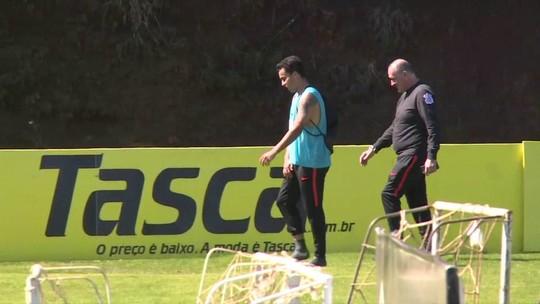 Corinthians treina no CT da Chape, e Loss faz primeiros ajustes para a decisão