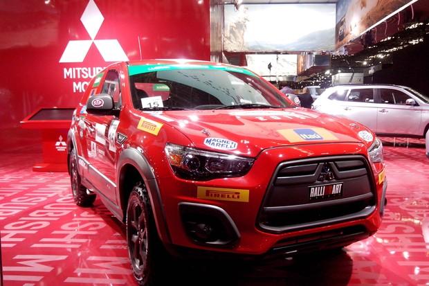 Mitsubishi ASX R no Salão do Automóvel 2014 (Foto: Daniela Trindade/Autoesporte)