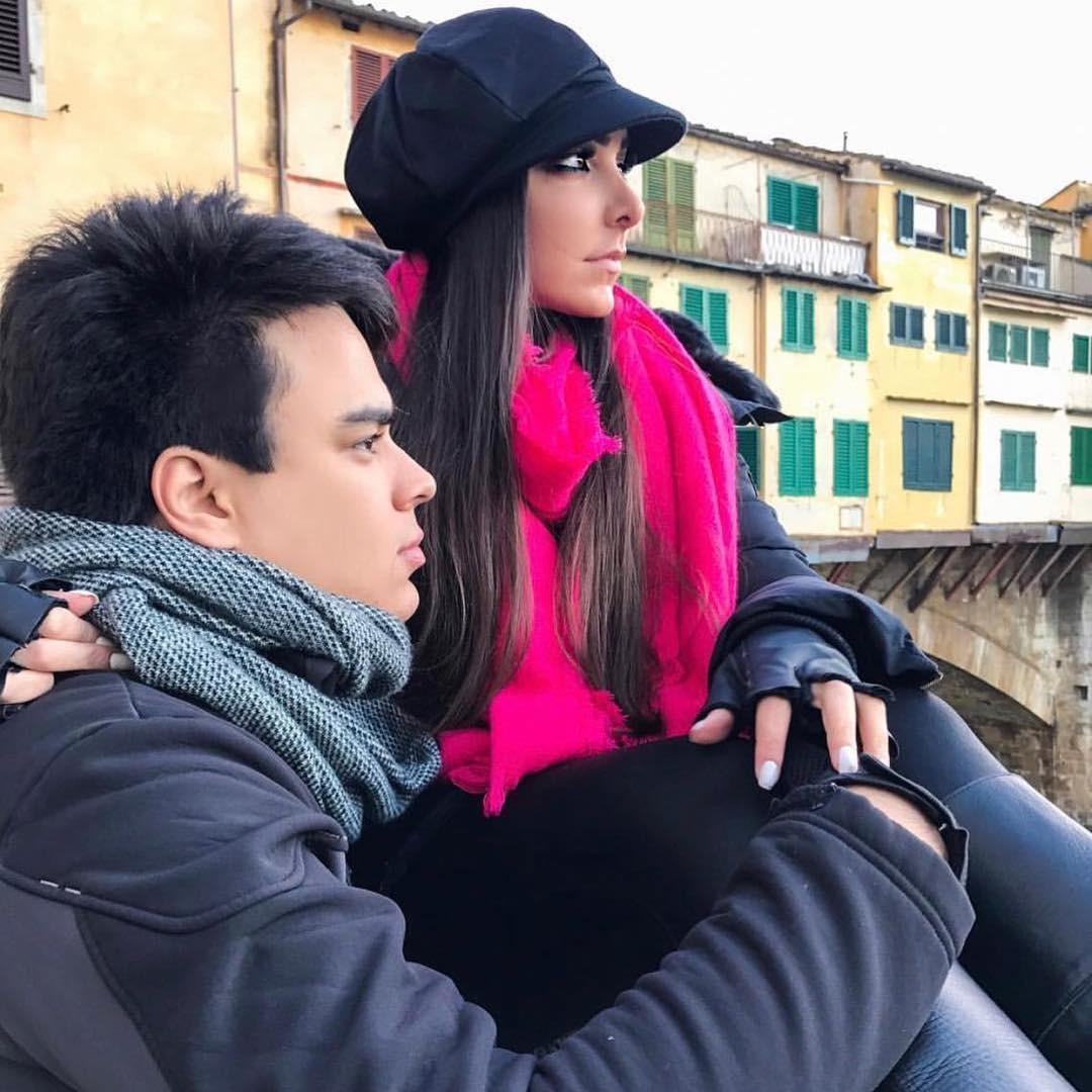 Filha de Zilu e Zezé Di Camargo, Igor e sua noiva Amabylle Eiroa (Foto: Reprodução / Instagram)