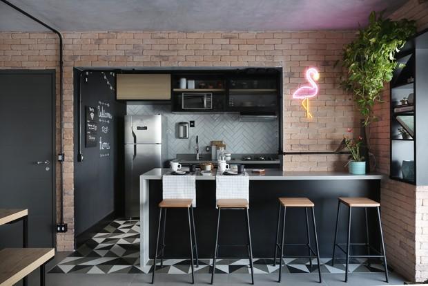 10 apartamentos com decoração industrial para inspirar