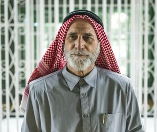 Herson Capri, o sheik Aziz de 'Órfãos da terra'   Paulo Belote/TV Globo