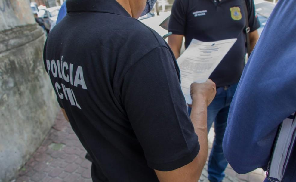 Prisão foi feita por policiais da delegacia de Conceição do Coité, na segunda-feira (7) — Foto: Divulgação/Polícia Civil