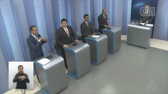 Candidatos ao governo do Amapá participam de debate na Rede Amazônica