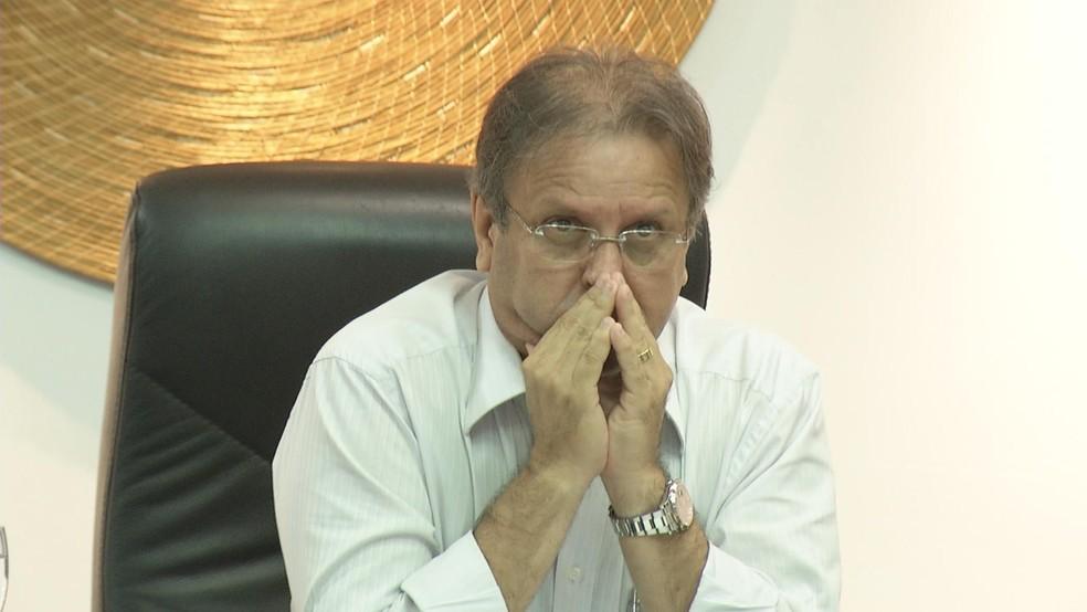 Marcelo Miranda tenta derrubar decisão do TSE no Supremo (Foto: Arquivo TV Anhanguera )