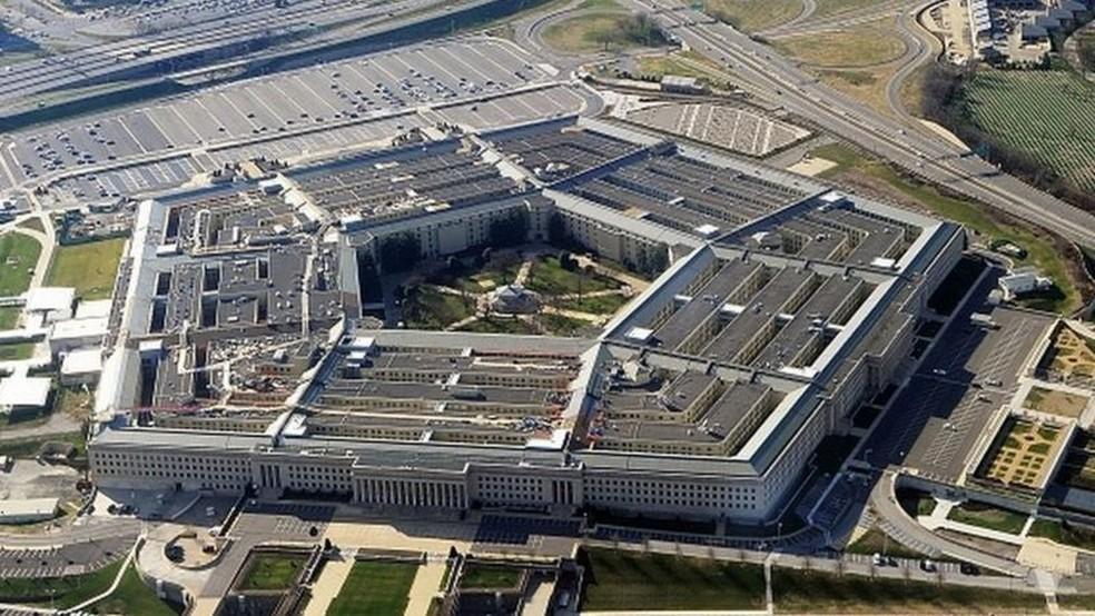 O Pentágono criou um grupo de trabalho para investigar os casos de observação de óvnis — Foto: Getty Images via BBC