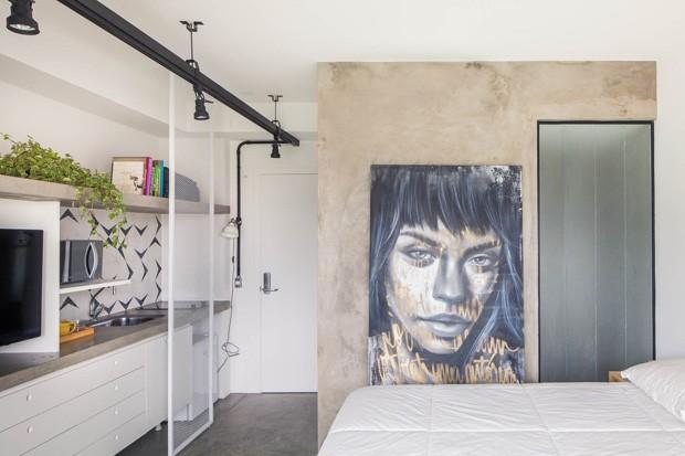 12 ideias de como usar grafite na decoração (Foto: André Mortatti)
