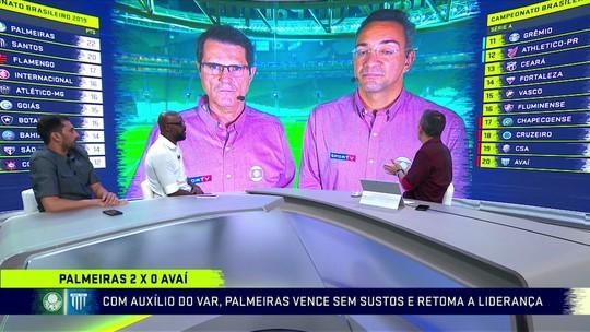 Comentaristas analisam vitória do Palmeiras contra o Avaí e a retomada da liderança