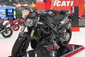 Ducati Streetfighter 848 (Foto: Rafael Miotto/G1)