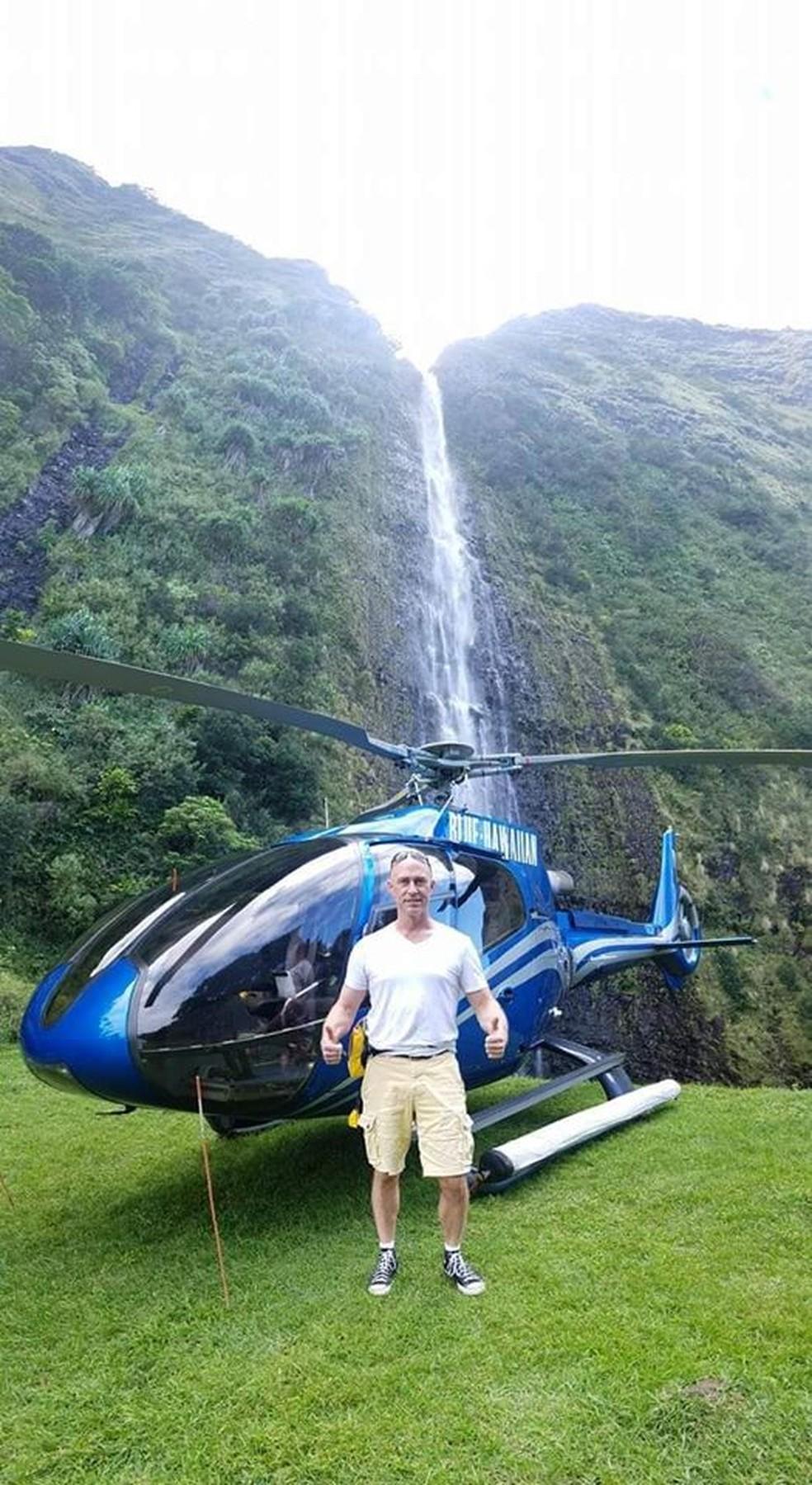 Ara Zobayan, o piloto do voo de Kobe Bryant — Foto: Reprodução