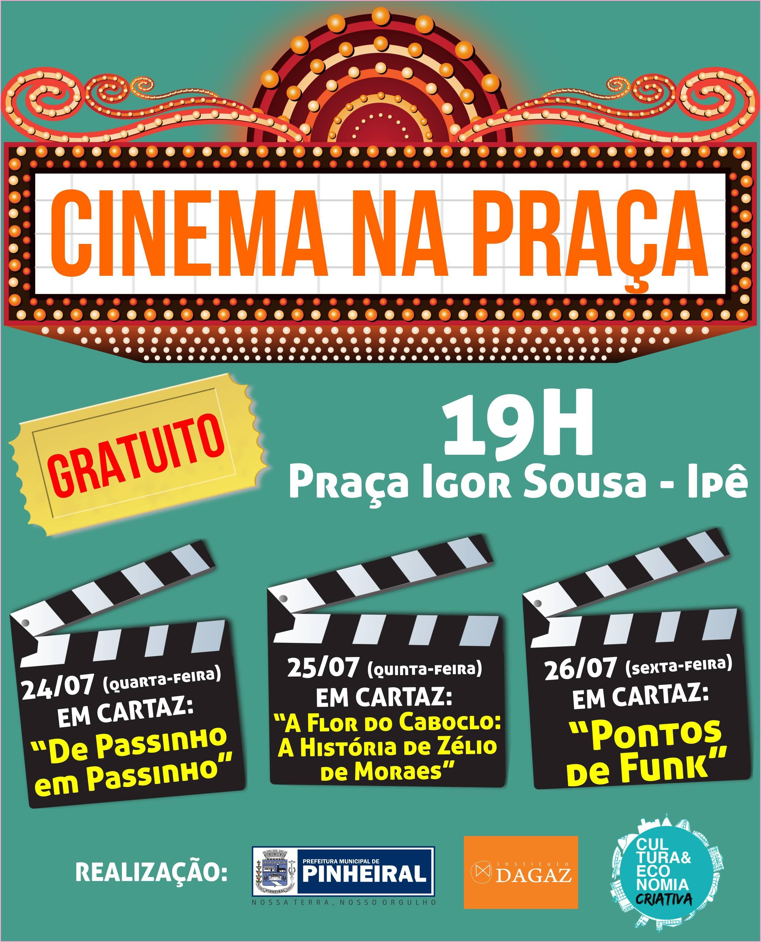 Projeto 'Cinema na Praça' leva filmes de produtores da periferia a Pinheiral - Notícias - Plantão Diário