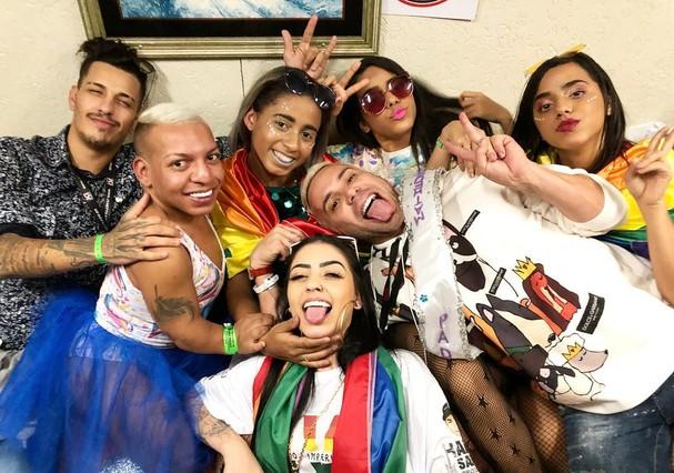 Famosos curtem a Parada LGBT 2018 (Foto: Instagram/Reprodução)