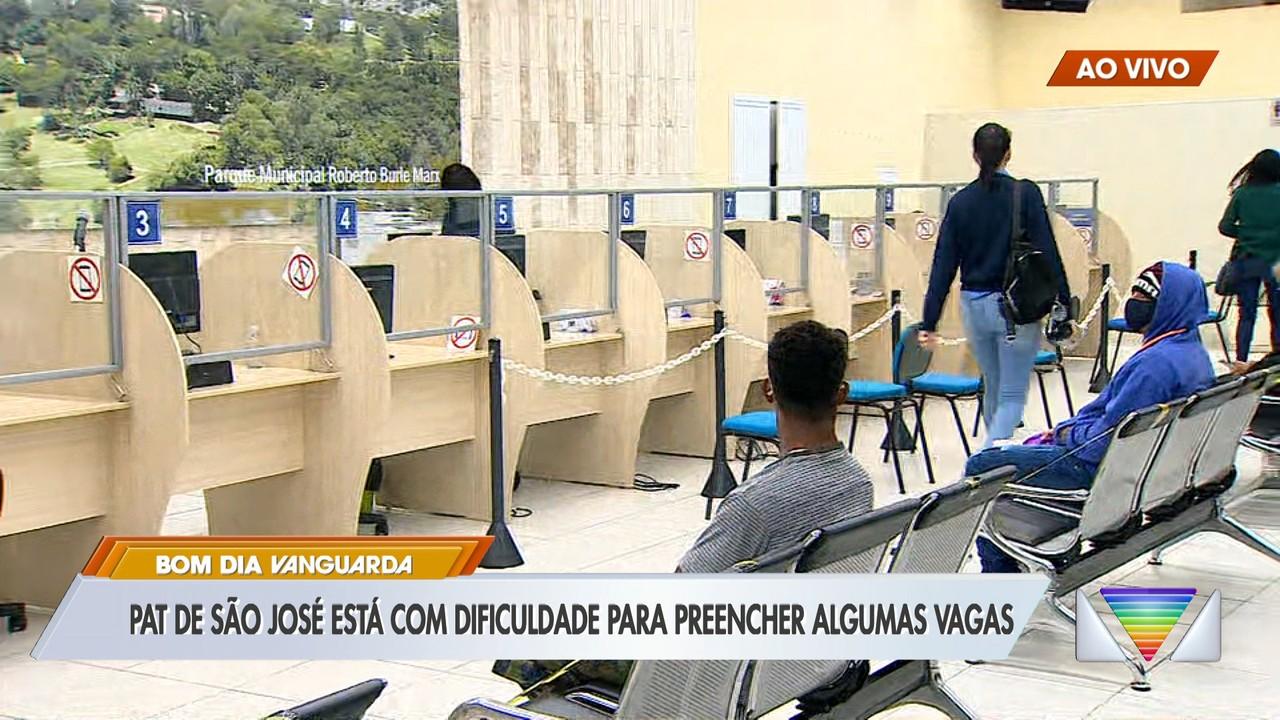 PAT de São José está com dificuldade para preencher algumas vagas