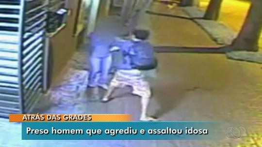 Suspeito de agredir idosa que reagiu a assalto é preso em Aparecida de Goiânia