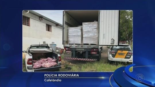 Dupla é presa furtando mais de 200 quilos de carne em Cafelândia