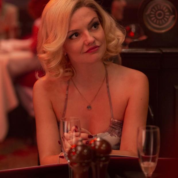 Emily Meade em The Deuce. Atriz foi responsável pela reclamação que levou à contratação e uma coordenadora de intimidade para as cenas de sexo nas produções da HBO (Foto: Divulgação/HBO Latin America)