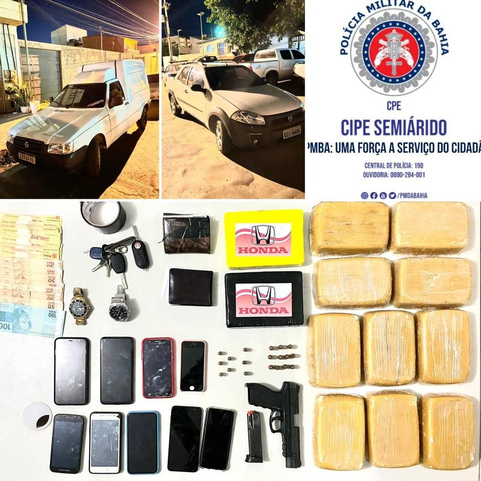 Laboratório com drogas é desmontado na região norte da Bahia — Foto: Divulgação/SSP