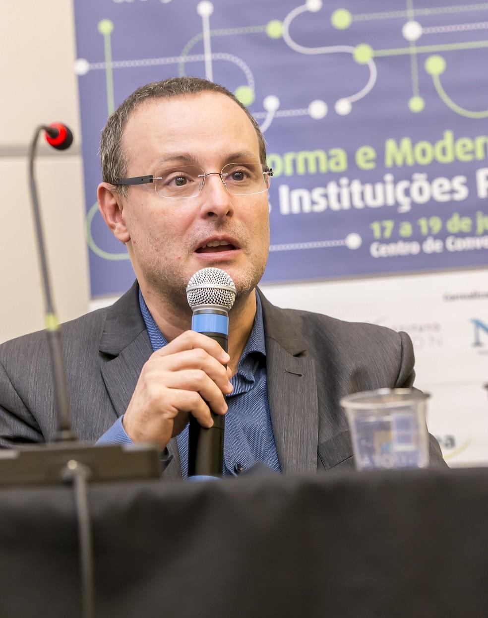 Renato Sérgio de Lima, diretor-presidente do Fórum Brasileiro de Segurança Pública — Foto: Imprensa/FBSP