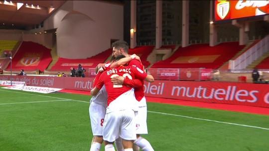 Os gols de Monaco 2 x 1 Lille pela 30ª rodada do Campeonato Francês