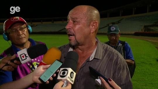 """Triste por novo revés de 3 a 0, técnico do Parnahyba deixa cargo à disposição: """"Estamos devendo"""""""