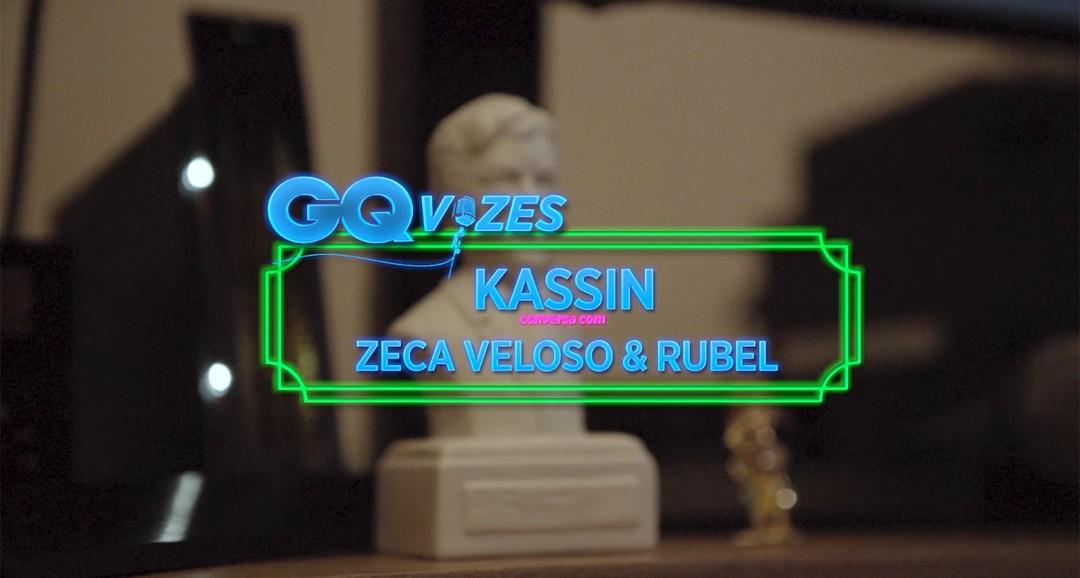 GQ Vozes: Kassin conversa com Rubel e Zeca Veloso (Foto: Reprodução)