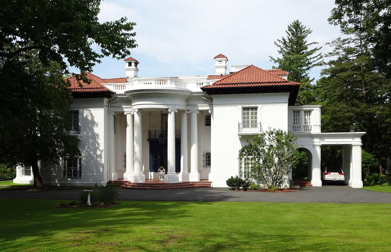 A mansão de Madam C. J. Walker, a primeira negra milionária dos Estados Unidos (Foto: Wikipedia Commons)