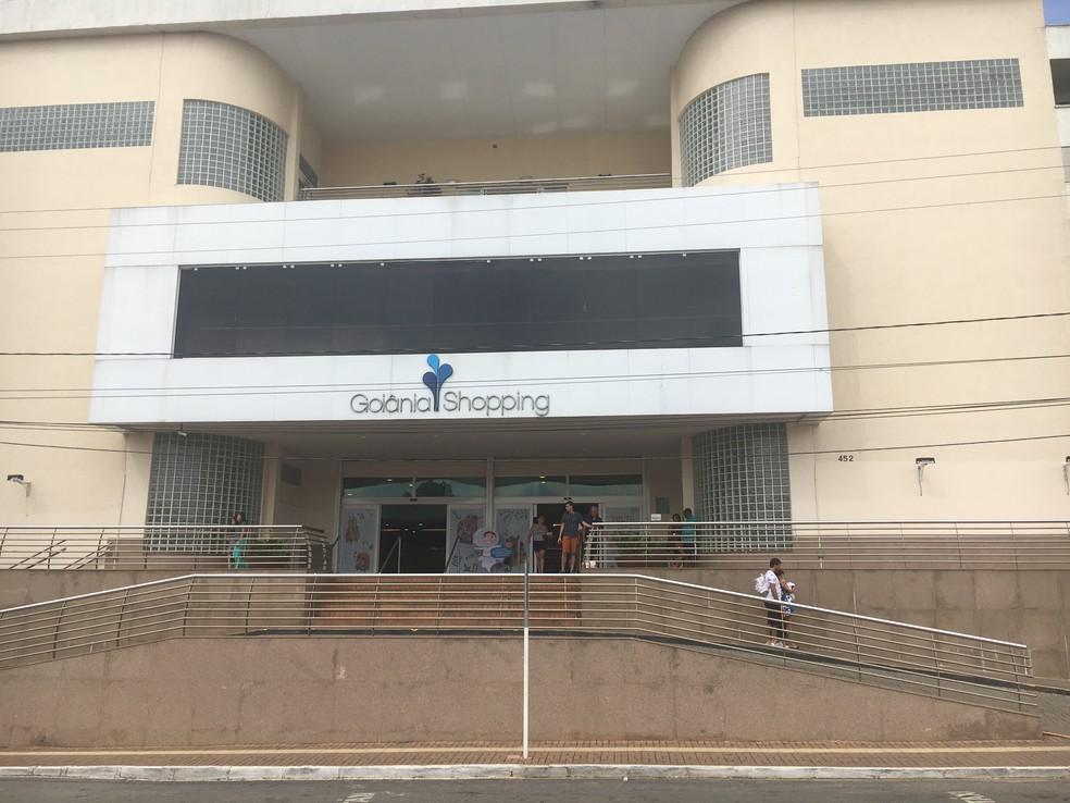 Goiânia Shopping e demais shopping irão funcionar na Semana Santa, em Goiânia (Foto: Vanessa Chaves/G1)