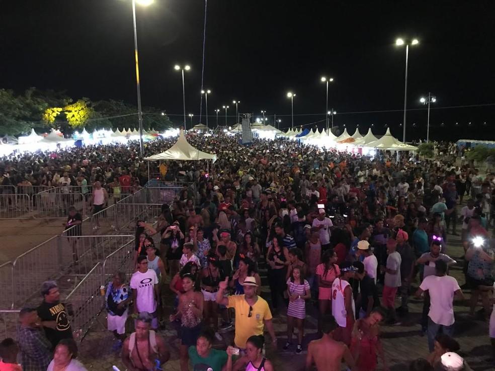 Cerca de 40 mil foliões devem curtir o carnaval em Pirapora — Foto: Max Andrade/Inter TV Grande Minas