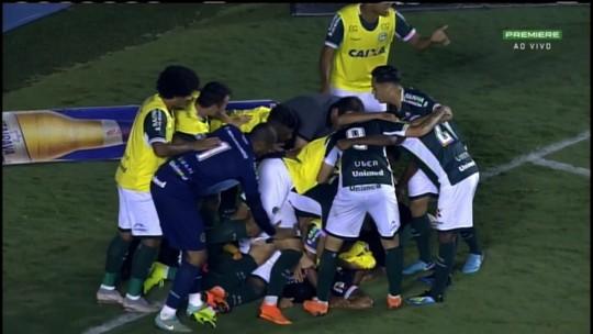 Os gols da vitória do Goiás sobre o Oeste por 3 a 1