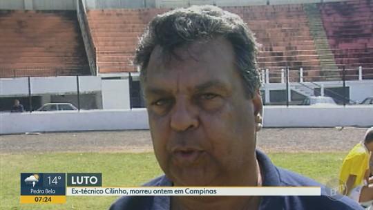 Corpo do ex-técnico Cilinho é velado no estádio da Ponte Preta