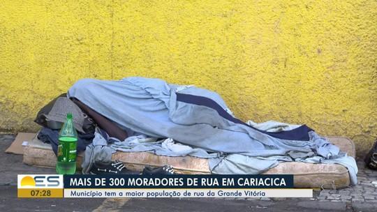Cariacica tem a maior população de rua da Grande Vitória