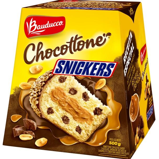 Panetone Bauducco de Snickers (Foto: Divulgação)