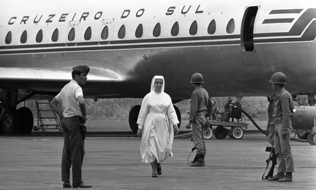 Após sequestro do avião Caravelle da Cruzeiro do Sul, que teve sua rota desviada para Cuba, forças do Exército passaram a guardar o Aeroporto de Manaus