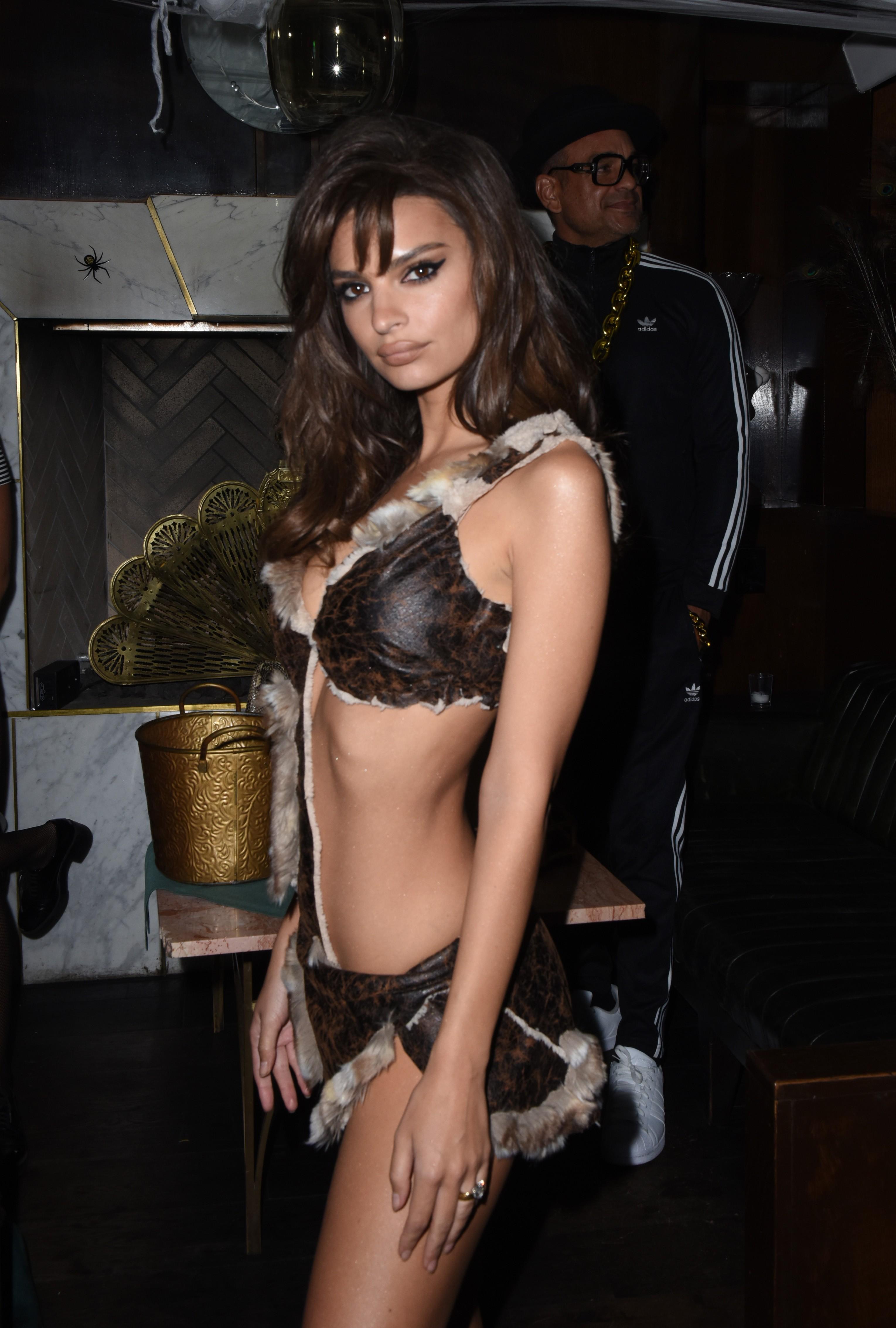 A atriz e modelo Emily Ratajkowski  (Foto: Getty Images)