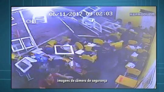 Vídeo mostra caminhão desgovernado invadindo salas de aula em Iguaba Grande, no RJ