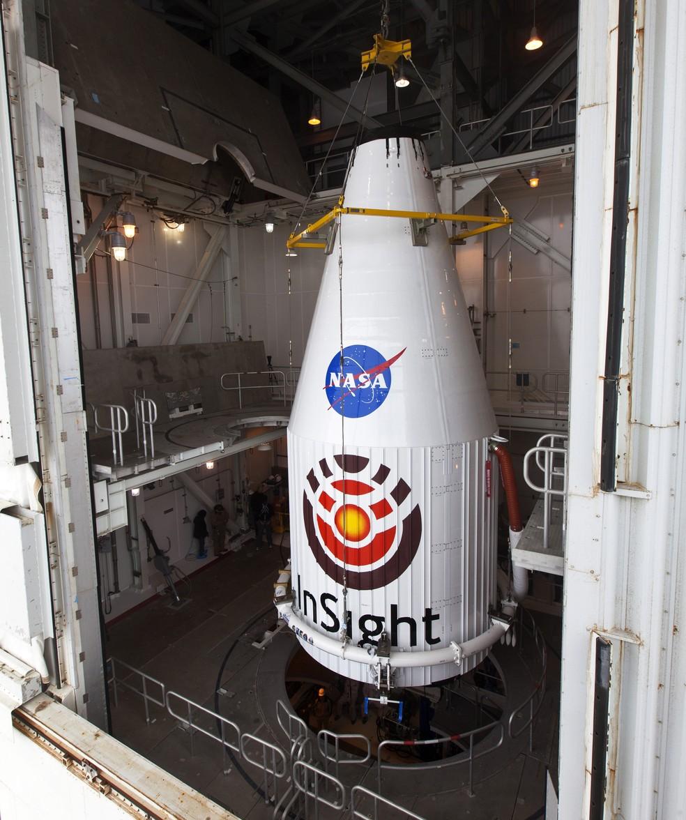 Sonda será lançada junto a foguete com mais de 50 metros de altura (Foto: Nasa)