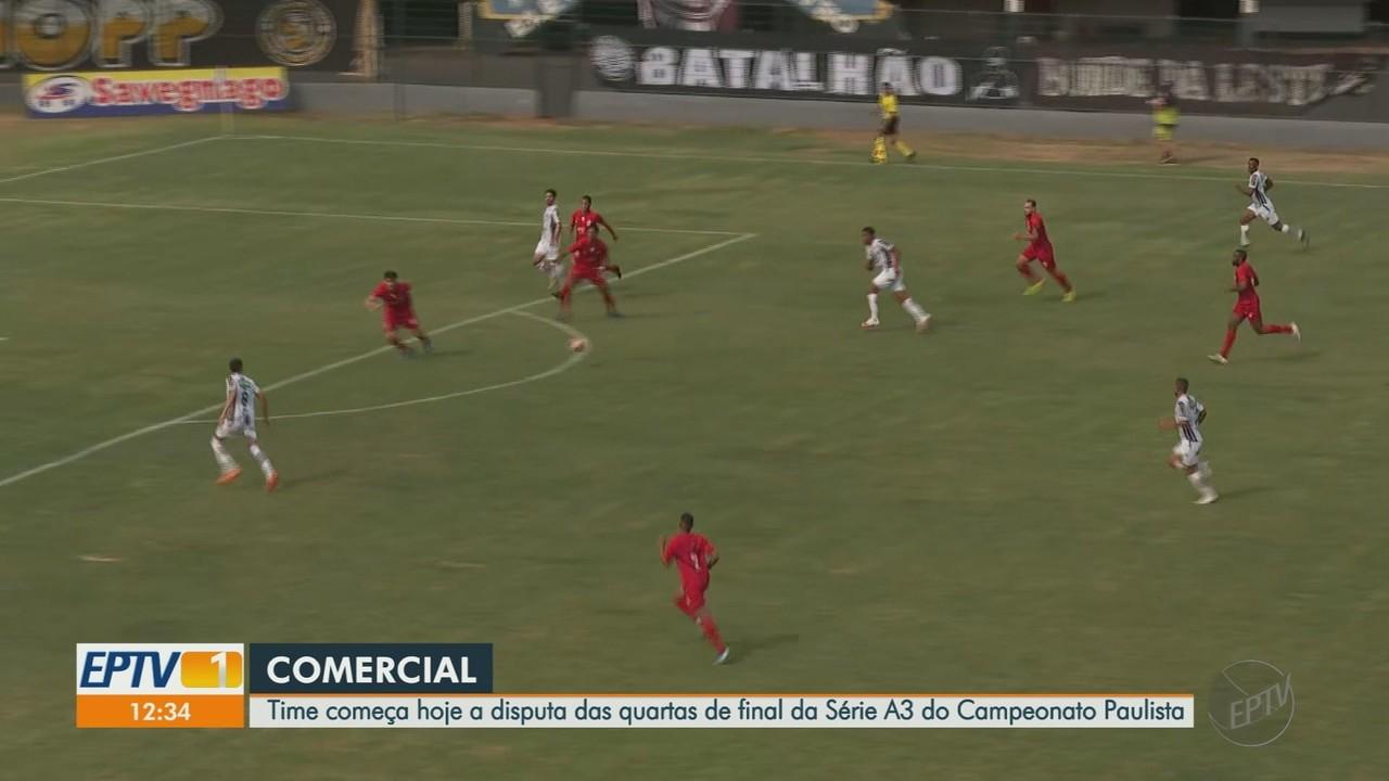 Comercial enfrenta o Linense pelas quartas de final da Série A3