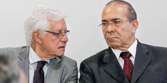 Eliseu Padilha e Moreira Franco (Foto: Givaldo Barbosa / Agência O Globo)
