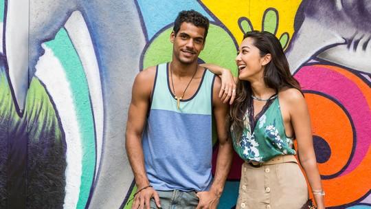 Jacqueline Sato e Marcello Melo Jr. comentam novo casal de 'Sol Nascente'
