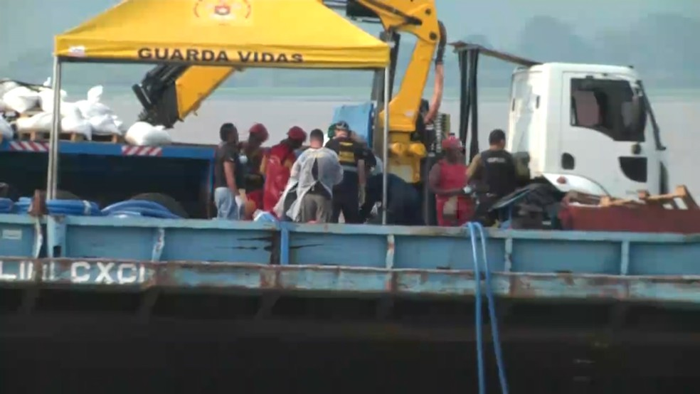 Corpos foram localizados e resgatados nos dias 5 e 6 de dezembro (Foto: Reprodução/TV Tapajós)