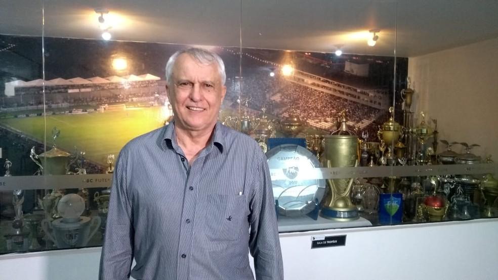 Fernando Suassuna será aclamado novo presidente do ABC — Foto: Oscar Xavier/Inter TV