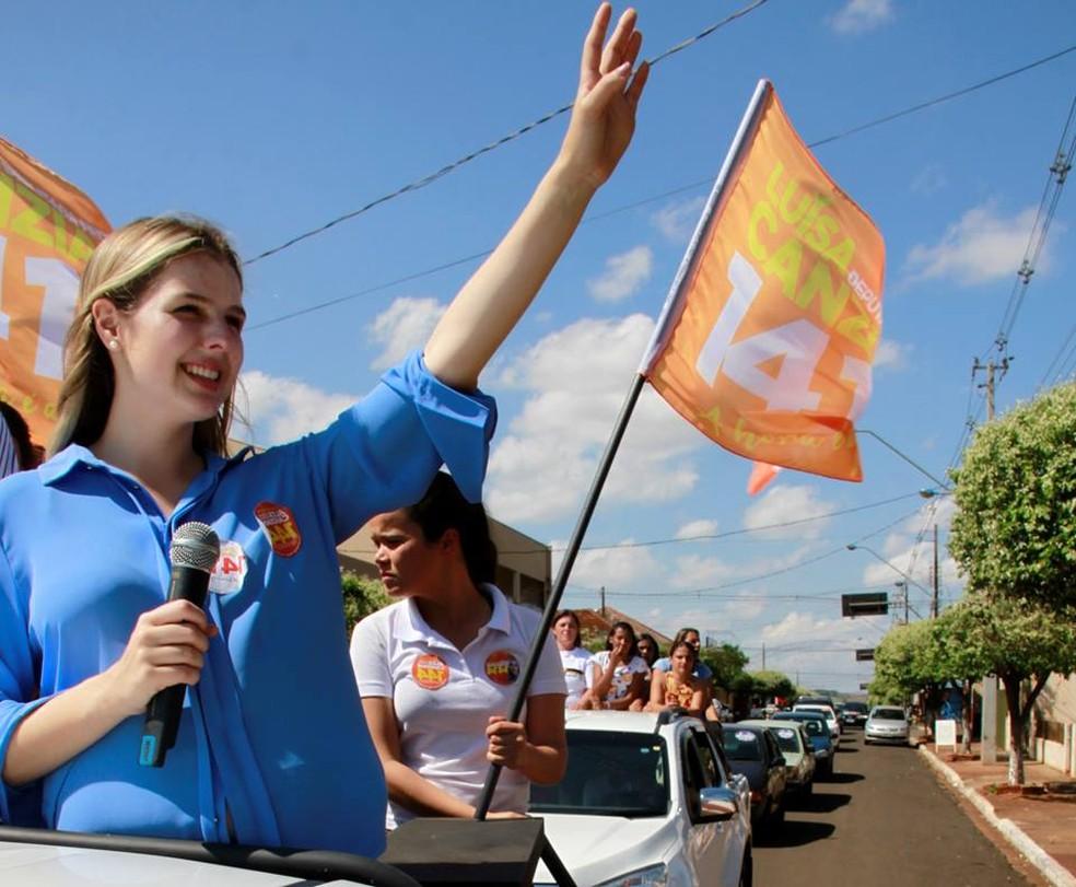Luiza Canziani, eleita deputada federal pelo Paraná. — Foto: Reprodução/Facebook