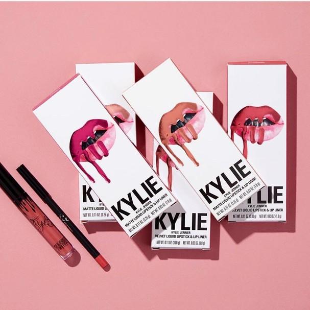 Os famosos kits labiais da Kylie (Foto: Reprodução/Instagram)