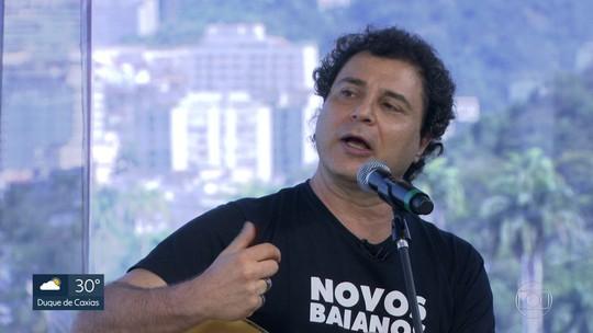 Frejat canta no Festival de Inverno do Rio, na Marina da Glória