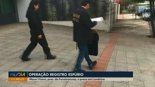 Sindicalista do Paraná é preso em nova fase da Operação Registro Espúrio, que apura desvios de R$ 9 milhões