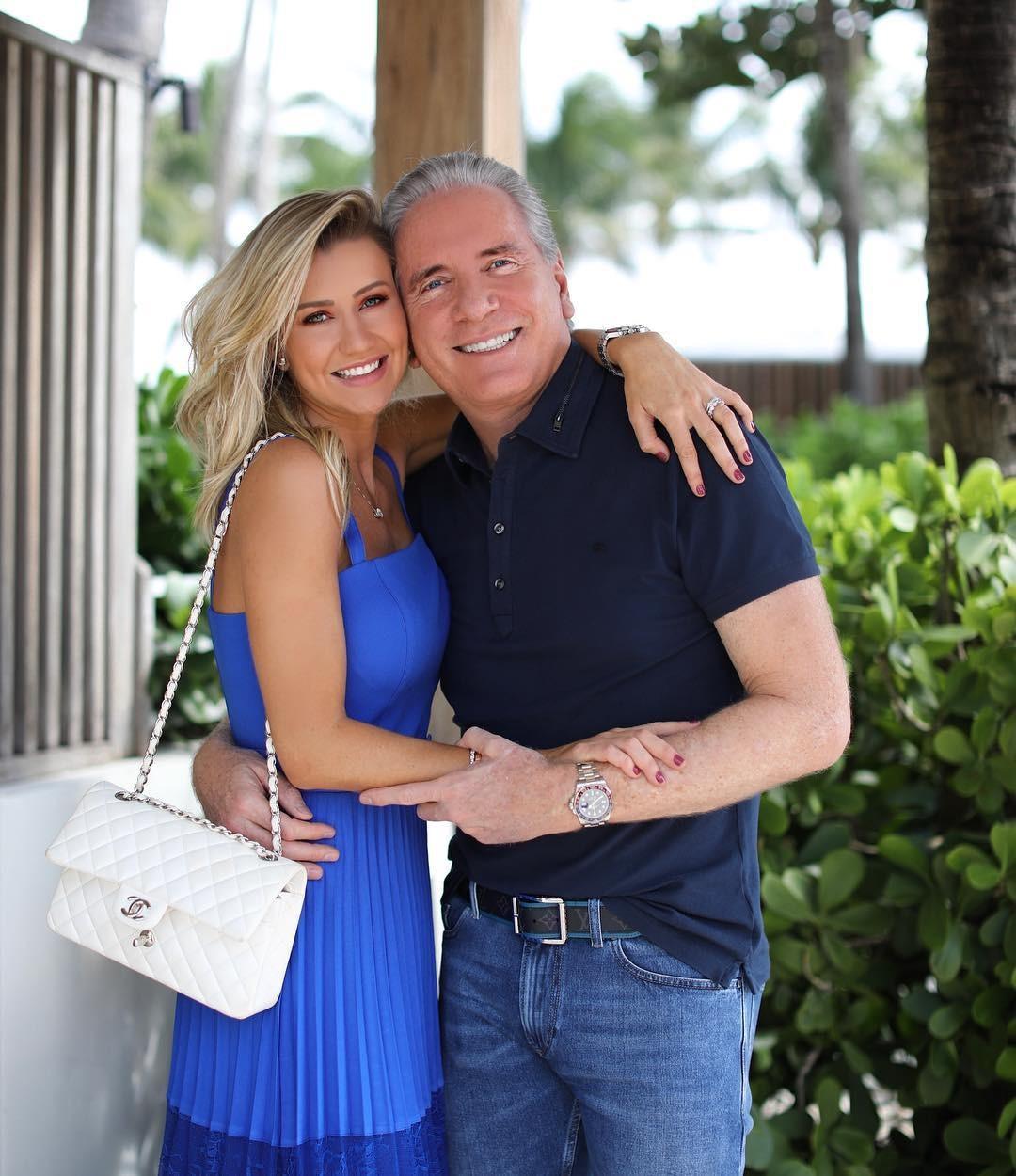 Ana Paula e Justus em Miami (Foto: Reprodução)