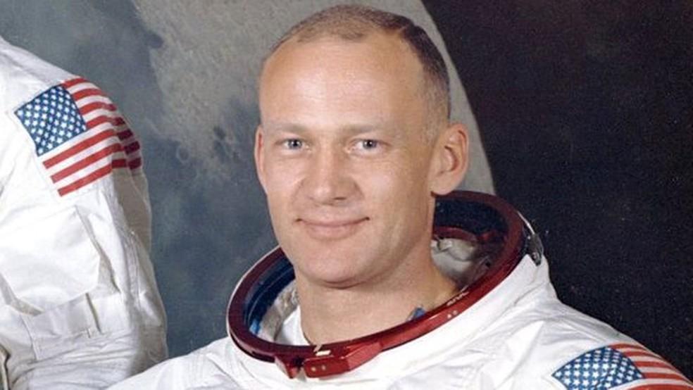 O astronauta Buzz Aldrin foi o segundo homem a pisar na Lua (Foto: NASA)