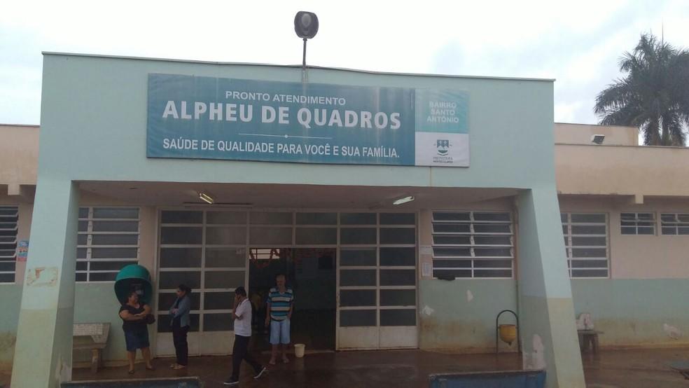 Enfermeira do Hospital Alpheu de Quadros foi agredida por um paciente durante atendimento  (Foto: Defesa Social/Divulgação)